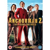 Anchorman 2 The Legend Continues DVD