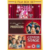 3 Film Box Set: Razzle Dazzle / The Producers / Center Stage DVD