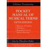 Schirmer's Handy Book of Musical Terms and Phrases