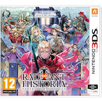 Radiant Historia Perfect Chronology (Inc Bonus Art Book) 3DS Game