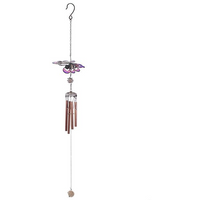 Pink and Purple Gradient Butterfly Windchime