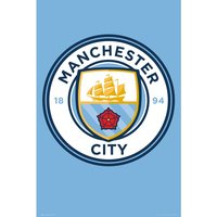 Manchester City Club Crest Maxi Poster