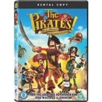 The Pirates! In An Adventure With Scientists Rental DVD