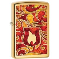 Zippo Shield High Polish Brass Fusion lighter