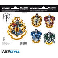 Harry Potter - Stickers - Hogwarts Houses Mini Stickers