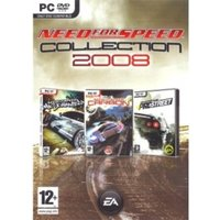 Need for Speed Collection 2008 Edition Includes Carbon/ Pro Street/ Most Wanted Game