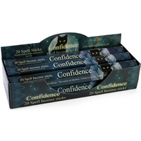 6 Packs of Confidence Spell Incense Sticks by Lisa Parker