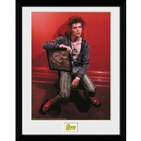 David Bowie Chair Collector Print