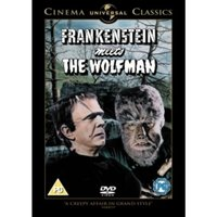 Frankenstein Meets The Wolf Man DVD