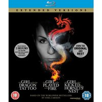 The Girl Who Millennium Trilogy Extended Versions Blu-ray