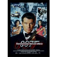 James Bond - Tomorrow Never Dies One-sheet Framed 30 x 40cm Print