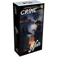 Chronicles of Crime Noir Board Game Damaged
