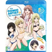 Comic Artist & His Assistants, The Complete Series Collection + Bonus OVA Episodes Blu-ray