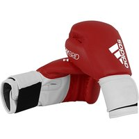 Adidas 100 Hybrid Boxing Gloves Red - 8oz