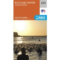 Rutland Water, Stamford and Oakham by Ordnance Survey (Sheet map, folded, 2015)
