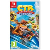 Crash Team Racing Nitro Fueled Nintendo Switch Game (Inc DLC)