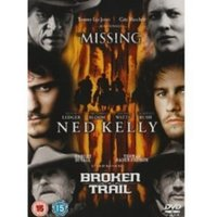 Ned Kelly & Broken Trail & The Missing DVD