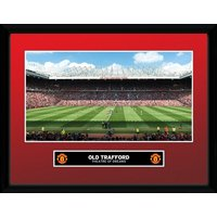 Manchester United Old Trafford 15/16 Collector Print