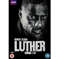 Luther - Series 1-4 DVD