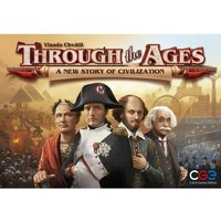 Ex-Display Through the Ages A New Story of Civilization Board Game