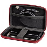 Hama E.V.A HDD Red Carrying Case (2.5 Inch)