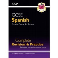New GCSE Spanish Complete Revision & Practice (with CD & Online Edition) - Grade 9-1 Course by Coordination Group...