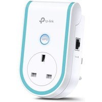 TP-LINK (RE360) AC1200 (300 867) Dual Band Wall-Plug WiFi Range Extender, GB LAN, AC Pass Through UK Plug