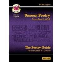 New Grade 9-1 GCSE English Literature AQA Unseen Poetry Guide - Book 2 by CGP Books (Paperback, 2017)