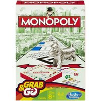 Monopoly Grab and Go Travel Game