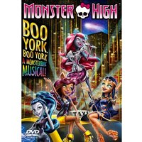 Monster High: Boo York! Boo York! DVD
