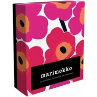 Marimekko Unikko Notes : 20 Different Notecards and Envelopes