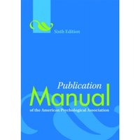 Publication Manual of the American Psychological Association by American Psychological Association (Paperback, 2009)