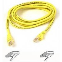 UTP PATCH CABLE (YELLOW) 5M