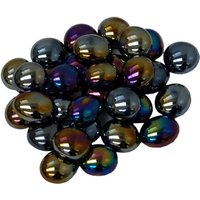 Chessex Gaming Stone Colours: Black Opal Iridized