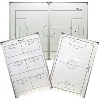 Precision Double-Sided Folding Soccer Tactics Board 90X120cm