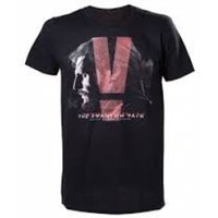 Metal Gear Solid V Phantom Pain Adult Male Box Cover Small T-Shirt - Black