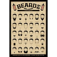 Beards - The Art of Manliness Maxi Poster