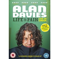 Alan Davies - Life Is Pain DVD