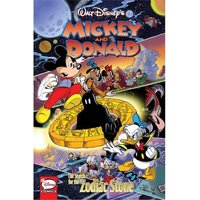 Mickey & Donald  The Search For The Zodiac Stone (Hardcover)