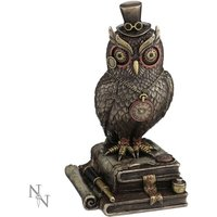 Time Wise Steampunk Owl Figurine