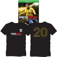 Pro Evolution Soccer 2016 Day One Edition Xbox One Game (with T-Shirt)