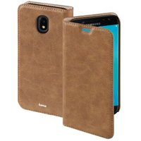 Hama Guard Case Booklet for Samsung Galaxy J7 (2017), brown