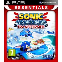 Sonic & All-Stars Racing Transformed PS3 Game (Essentials)