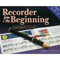Recorder from the Beginning : Books 1 + 2 + 3 Books 1 + 2 + 3