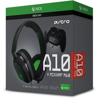 Astro A10 Gaming Headset + Mixamp M60 (Grey/Green) Xbox One PS4 and Mobile