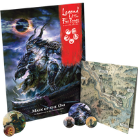 Legend of the Five Rings RPG: Mask of the Oni Board Game