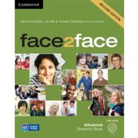 face2face Advanced Student's Book with DVD-ROM by Jan Bell, Theresa Clementson, Gillie Cunningham (Mixed media product, 2013)