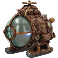 Steam Powered Exploration Pod Steampunk Figurine