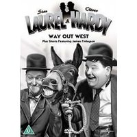 Laurel And Hardy - No. 3 - Way Out West Plus Shorts DVD