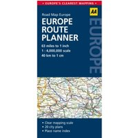 Europe Route Planner : AA Road Map Europe